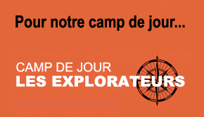 Camp de jour - Les Explorateurs